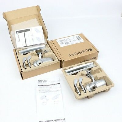 Andersen 400 Series Perma-Shield Awning Hardware Package Brushed Chrome #1500004