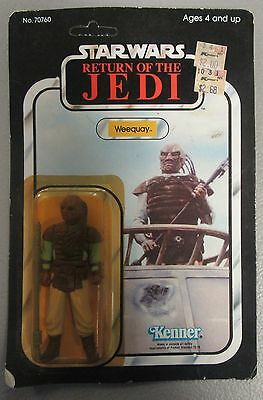 Star Wars Return of The Jedi Weequay SEALED UNPUNCHED Action Figure 1983 Kenner