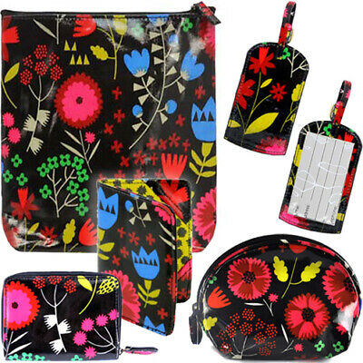GISELA GRAHAM FLORAL GLASSES BAG / Sunglasses Flower Case Holiday Storage Travel
