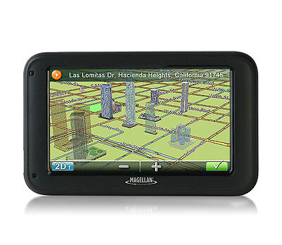 """Magellan RM5320-LM 5"""" TXT-SPCH GPS with Free Lifetime Map Updates"""