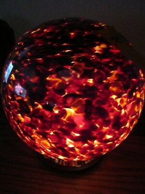 Antique Czech Art Glass Lamp Shade