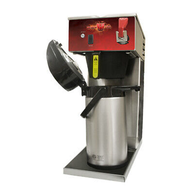 Brew-Tek AFAS Automatic Thermal Airpot Coffee Brewer w/ Faucet
