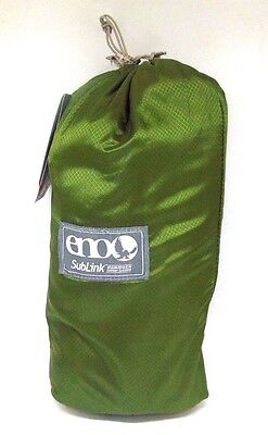 ENO SubLink Hammock Shelter System with Sub7 Hammock Green