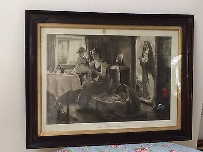 Victorian Piece Of Art By Arthur Kemp Tebby. More Heavens Then One. Signed.