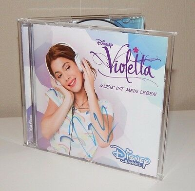 TINI Martina Stoessel VIOLETTA CD Autogramm original signiert SELTEN IN PERSON