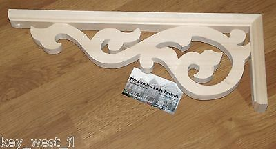 "Victorian Wood Gingerbread {16"" x 6""} Porch Trim ~ Door Arch #35 ~ by  PLD"