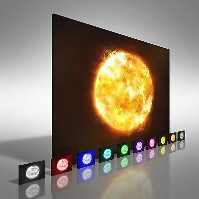 Sun From Space Canvas Print Large Picture Wall Art