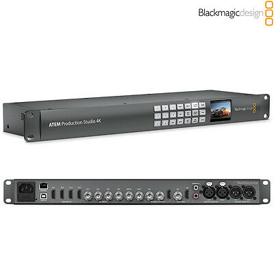 Blackmagic Design ATEM Production Studio 4K Live Switcher l Authorized Dealer