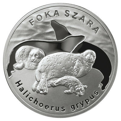 2007 - GREY SEAL - Silver Proof - 20zl