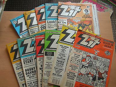 Zit Adult Comic X 11 Issue 1 -6, 8-10, 12, 14 Like Viz 1990's