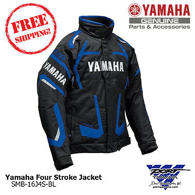 Yamaha Men's Blue Four Stroke Snowmobile Jacket by FXR SMB-16J4S-BL