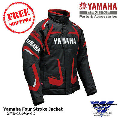 Yamaha Men's Red Four Stroke Snowmobile Jacket by FXR SMB-16J4S-RD