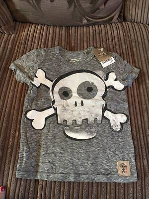 NEXT skull t-shirt * 12-18 months * Brand new with tags