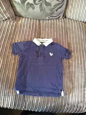 NEXT navy polo shirt * 12-18 months * Good condition