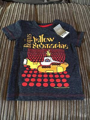 """NEXT """"The Beatles"""" Yellow Submarine t-shirt * 12-18m * Brand new w/tags"""