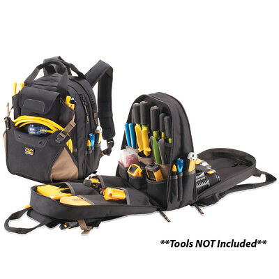 CLC Work Gear 1134 48 Pocket Deluxe Tool Backpack