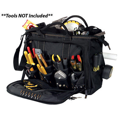 """CLC Work Gear 1539 18"""" Multi-Compartment Tool Carrier"""