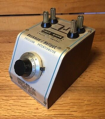 Beckman Instruments Helipot Precision Potentiometer (Lab Model T-10-A)1000ohm