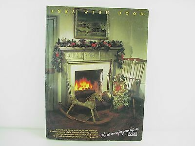 Vintage Sears Department Store Christmas Wish Book Catalog 1983 As Is