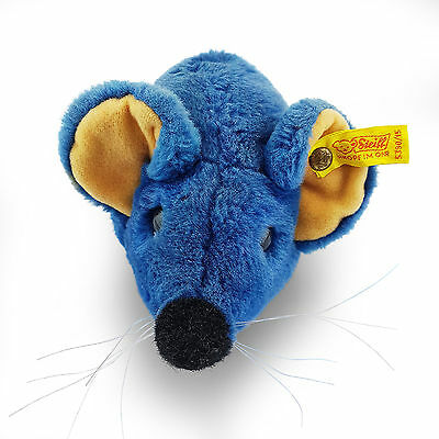Steiff The Original Bear - Mouse Limited Edition Genuine Rare Collectable Blue