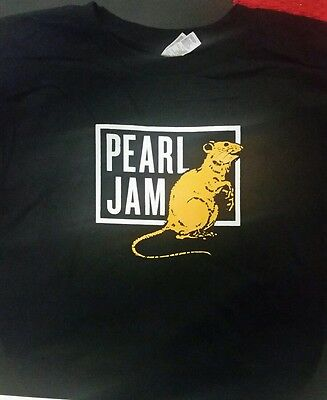 Pearl Jam 2012 Tour Xl Rat Concert T-Shirt