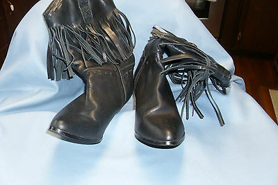 Woman's Dingo black boots size 8 leather uppers