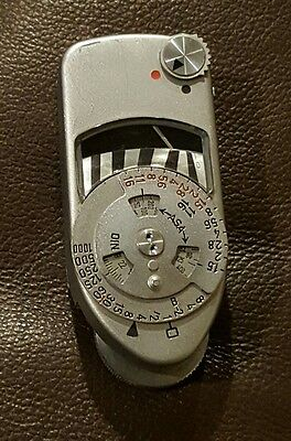 Leica Meter Mc Incident And Reflective Ambient Shoe Mount Light Meter
