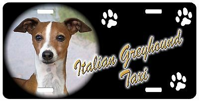 Italian Greyhound 2 Taxi Line License (SPECIAL LOW CLEARANCE PRICE)