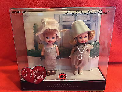 "I Love Lucy Kelly Dolls ""Lucy Gets a Paris Gown"" Pink Label Doll Barbie NIB"