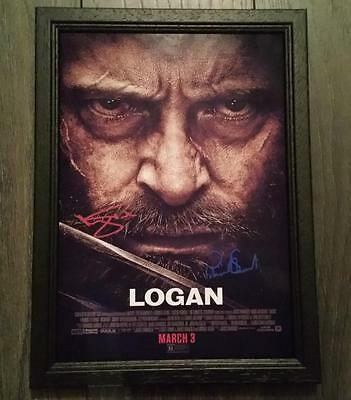 """Logan Pp Signed Framed A4 12X8"""" Photo Poster Xavier Wolverine"""