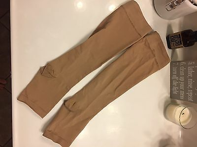 Nude Compression Hose Stockings Socks Maternity Or Medical