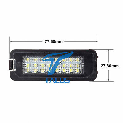 LED Licence Number Plate Light VW GOLF MK VI (5K1) Estate 10.2008 - 11.2013