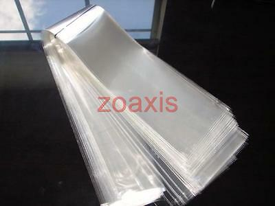 New Plastic Clear Necktie Tie Sleeves (100 Counts) Lot Z17