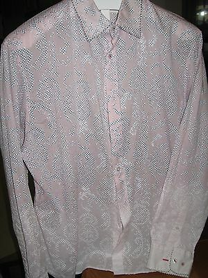 Men's  ELIE TAHARI Long Sleeve, Dress Shirt 100% Cotton, SZ XL FAST SHIPPING!!!!