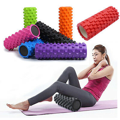 rouleau Exercise Yoga Tube Gym Massage Pilates Muscle Therapie