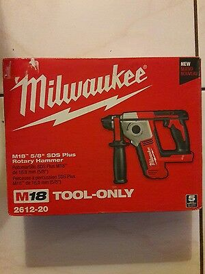 "milwaukee m18 5/8"" plus rotary hammer tool only"