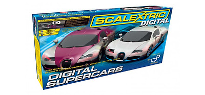 Scalextric C1322 Digital Supercars Set 1:32 Scale New