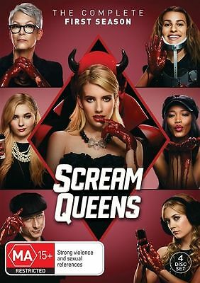 Scream Queens The Complete First Season 1 BRAND NEW SEALED R4 DVD