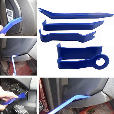 5Pc Car Interior/Exterior Dash Mould Trim Audio GPS Door Panel Open Removal Tool