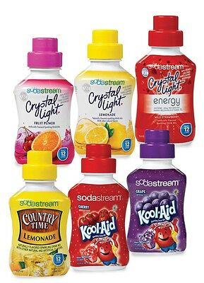 Sodastream Syrup Concentrate for Soda Stream Drinks Makers **Import Flavours**