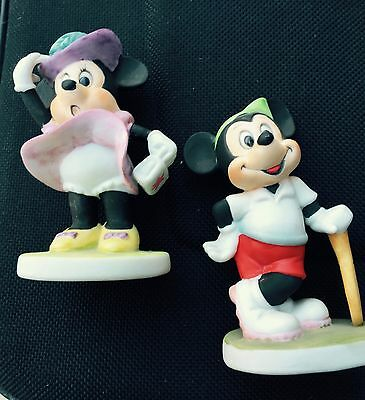 Mickey and Minnie mouse Vintage figurines