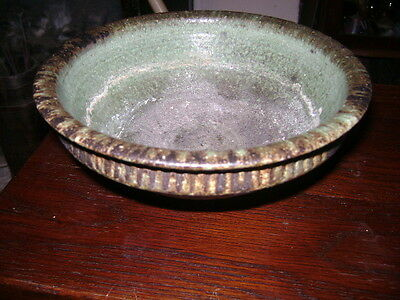 ANTIQUE PERSIAN POTTERY BOWL poss 15th C