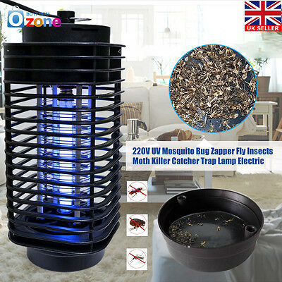 Electric UV Light Mosquito Killer Insect Grill Flying Pest Fly Bug Zapper Lamp