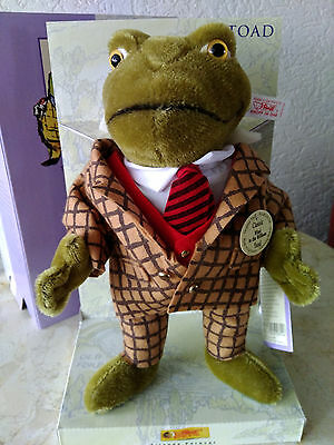 Steiff Wind in the Willows Toad EAN 037016