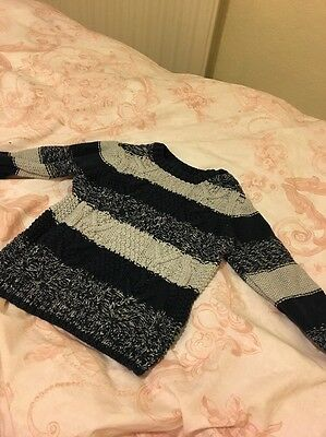 Baby Boy 6-9 Months Knitted Jumper