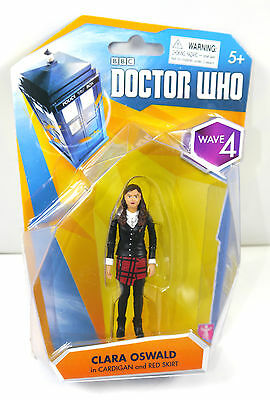 DOCTOR WHO Wave 4 - Clara Oswald in Cardigan Actionfigur CHARACTER BBC Neu (L)