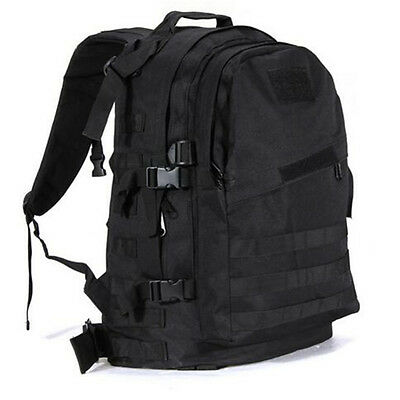 Outdoor Military Tactical Backpack Hiking Camping Travel Shoulder Bag Pack 55L