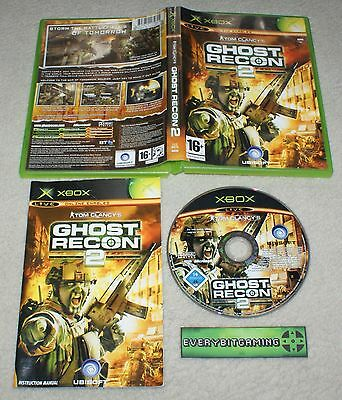Tom Clancys Ghost Recon 2 - Original XBOX Microsoft Game -  PAL complete