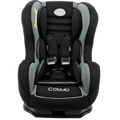 Babystart Cosmo SP 0-4 YR Rear & Forward Facing Recliner Car Seat Black Thunder