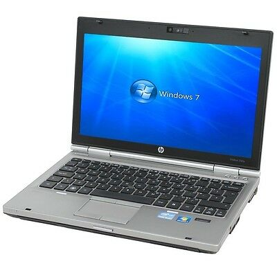 Cheap Win 7 HP Elitebook 2560p Core i5 2540M 2.60Ghz 4Gb 250GB DVD Webcam Laptop